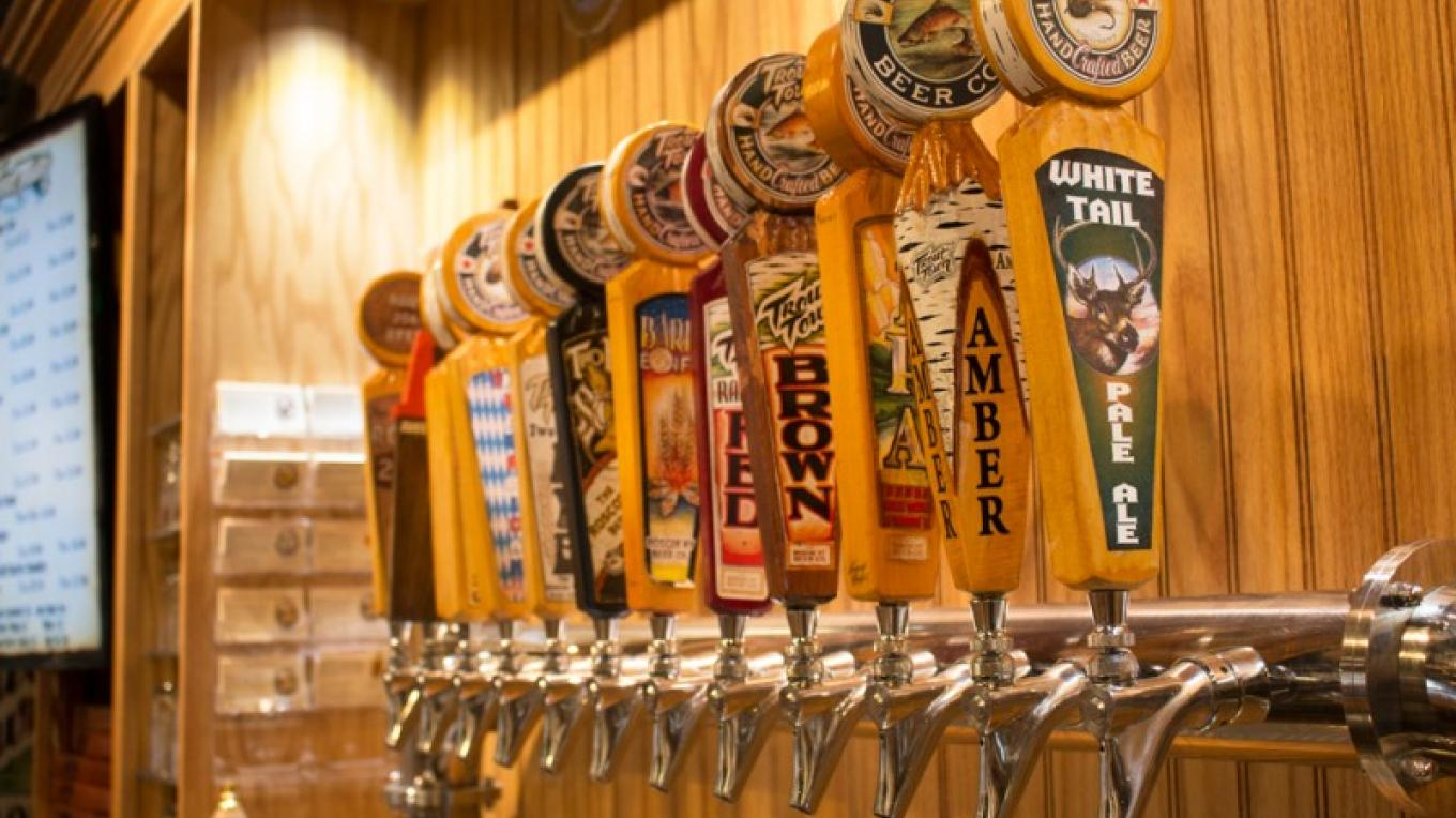 Enjoy one of our Trout Town brews. – The Roscoe Beer Co.