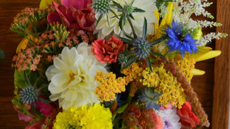 Summer Wedding Bouquet – Anne Hart