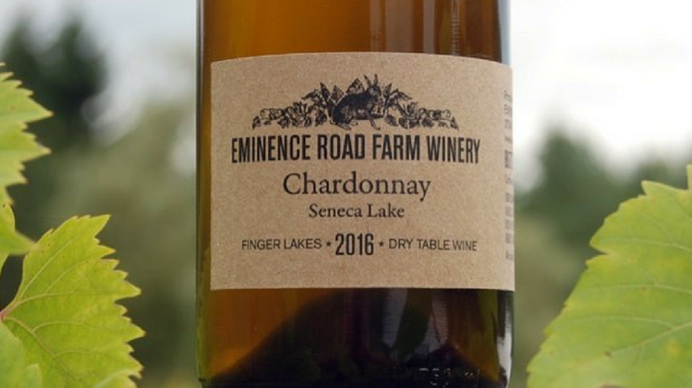 Dry table wine from Eminence Road Farm Winery