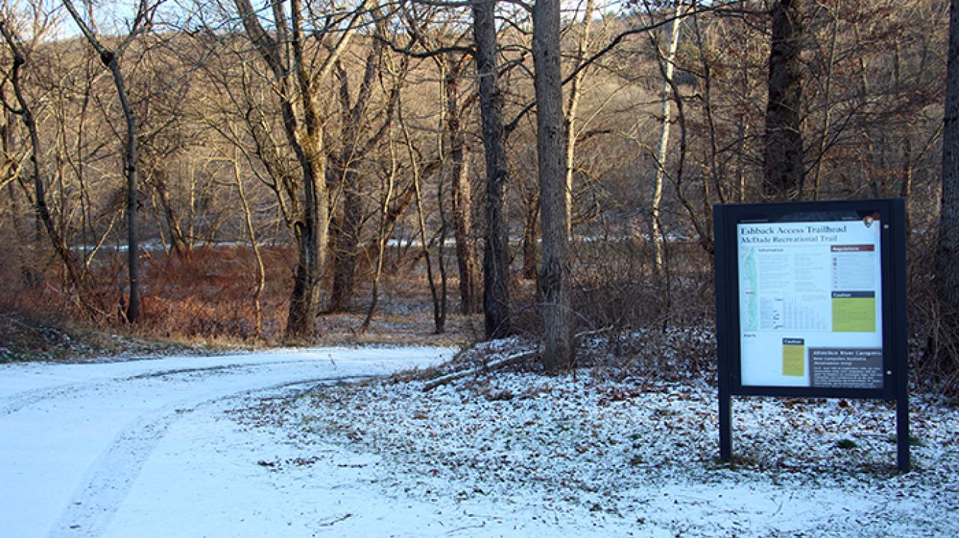 The McDade Trail runs through Eshback Access. – National Park Service