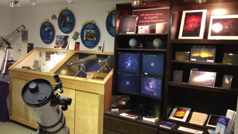 Astronomy displays at UACNJ facility. – Matt Heiss