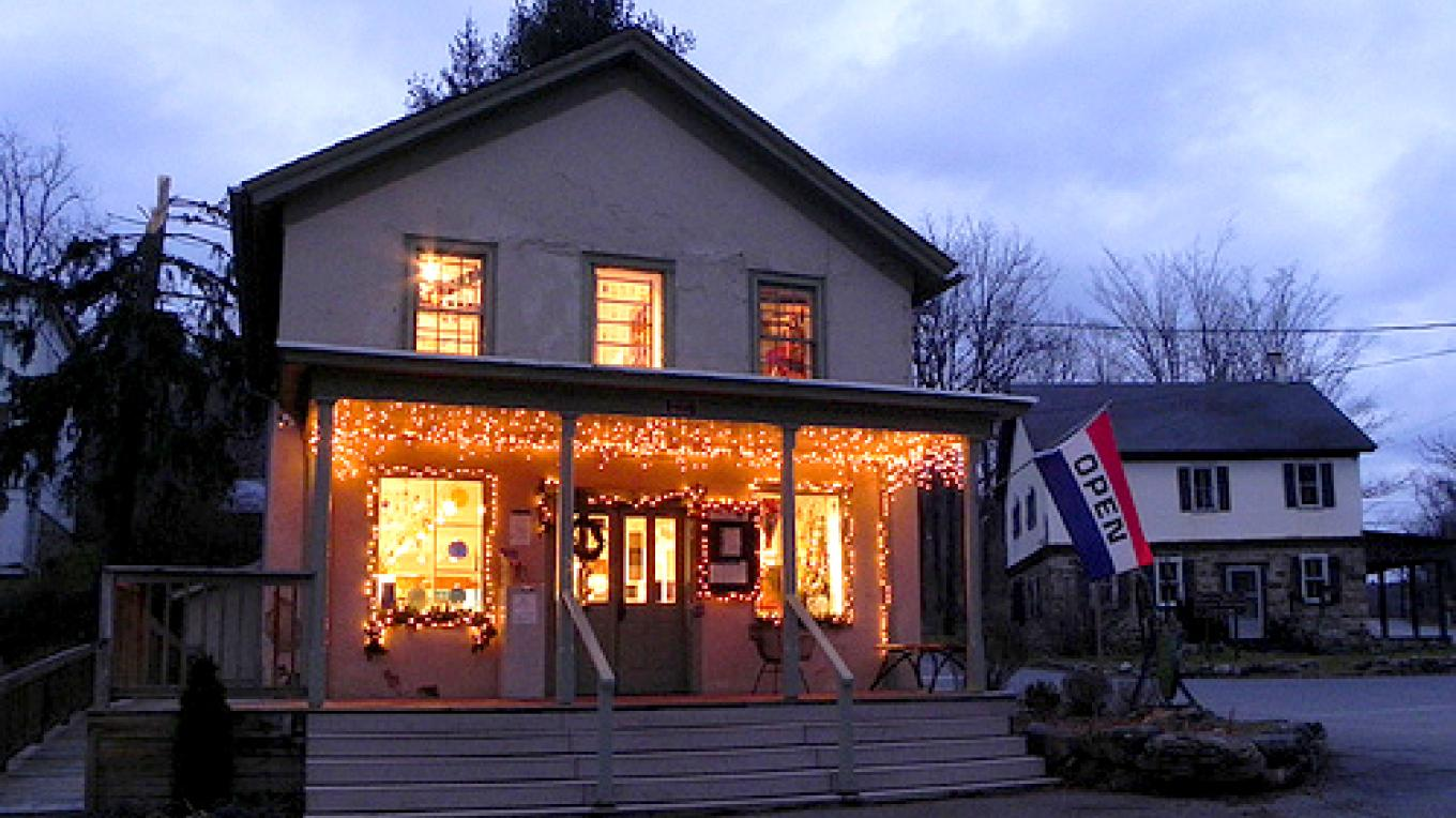 The Peters Valley Gallery is the perfect spot to find handmade gifts for the holidays and year round!