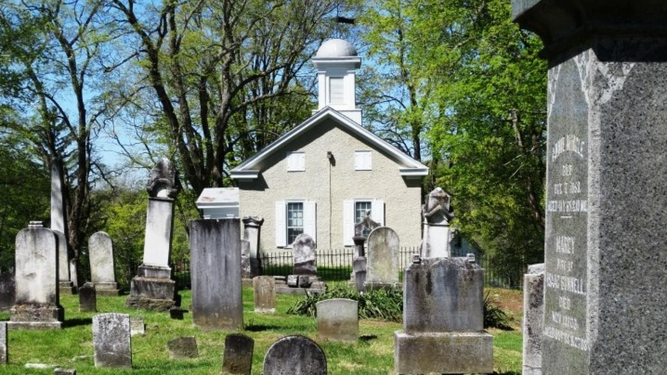 Gravel Hill cemetery dates to the late 1700s and holds many founding members of the community – Cynthia Montes