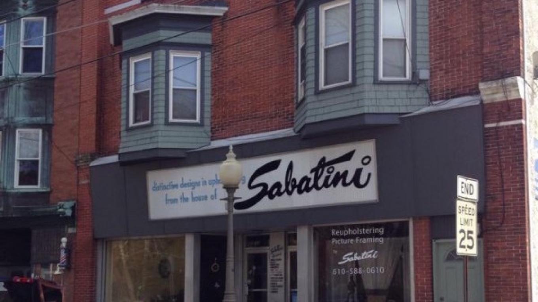Market Street, featuring the historic House of Sabatini custom upholsterers – Courtesy of the Slate Belt Community Partnership