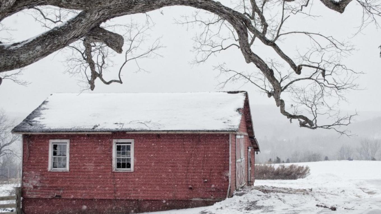 Carriage barn at the Van Kirk Homestead. – Nancy Madacsi