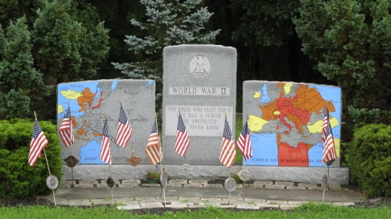 World War Two Monument. – Photograph by: Veterans Memorial Park and Education Center