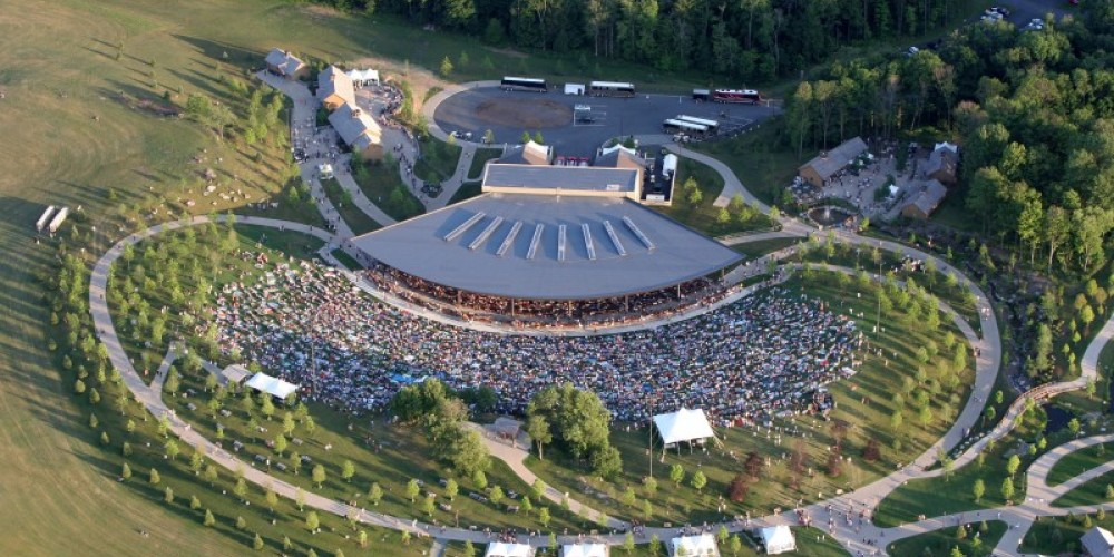 The Pavilion at Bethel Woods Center for the Arts