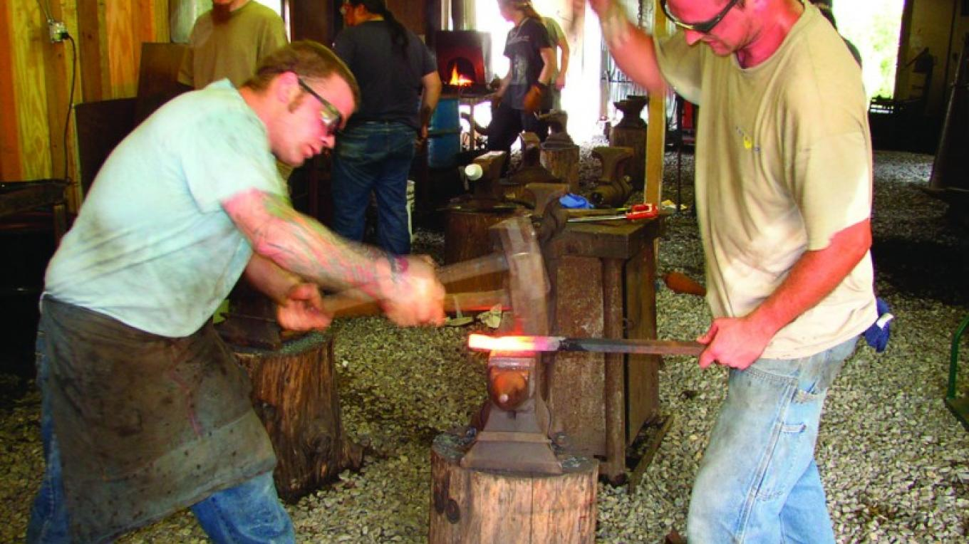 Blacksmithing Studio at Peters Valley School of Craft – PVSC