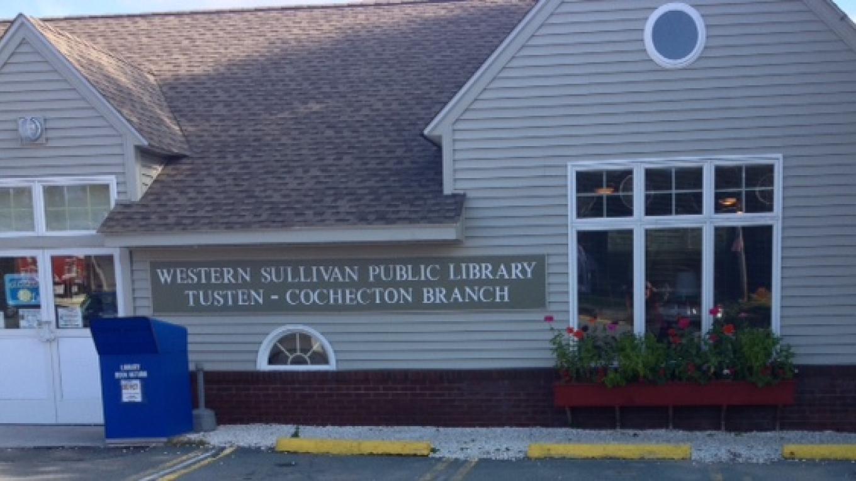 Close up of Tusten-Cochecton Branch – Western Sullivan Public Library