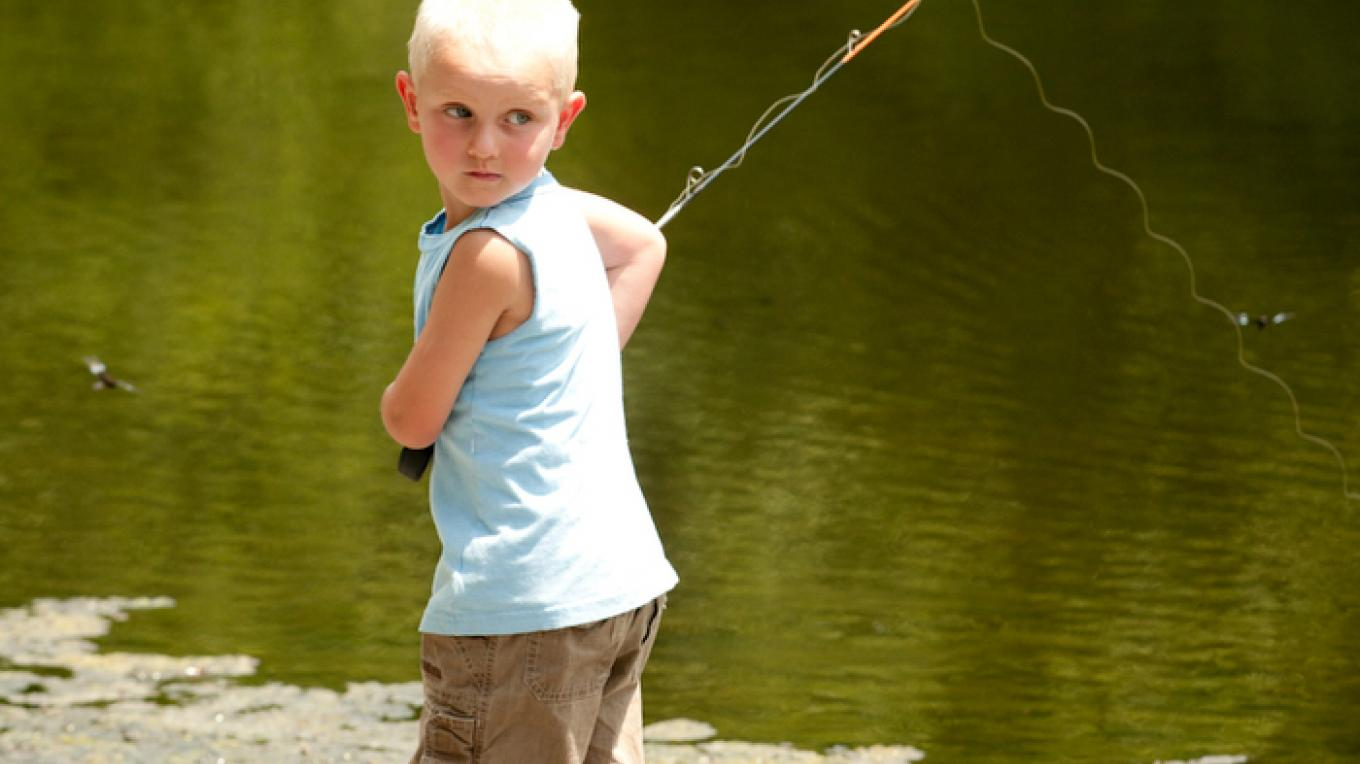 Try your luck at fishing. – David W. Coulter