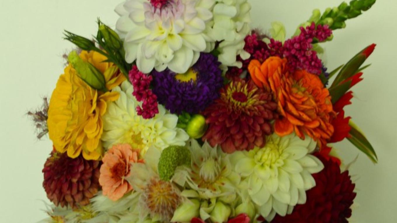 Fall Wedding Bouquet – Anne Hart