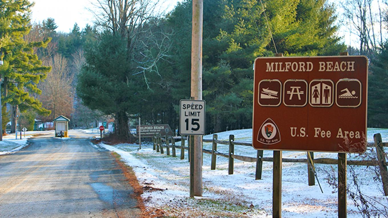 Entrance to Milford Beach – National Park Service