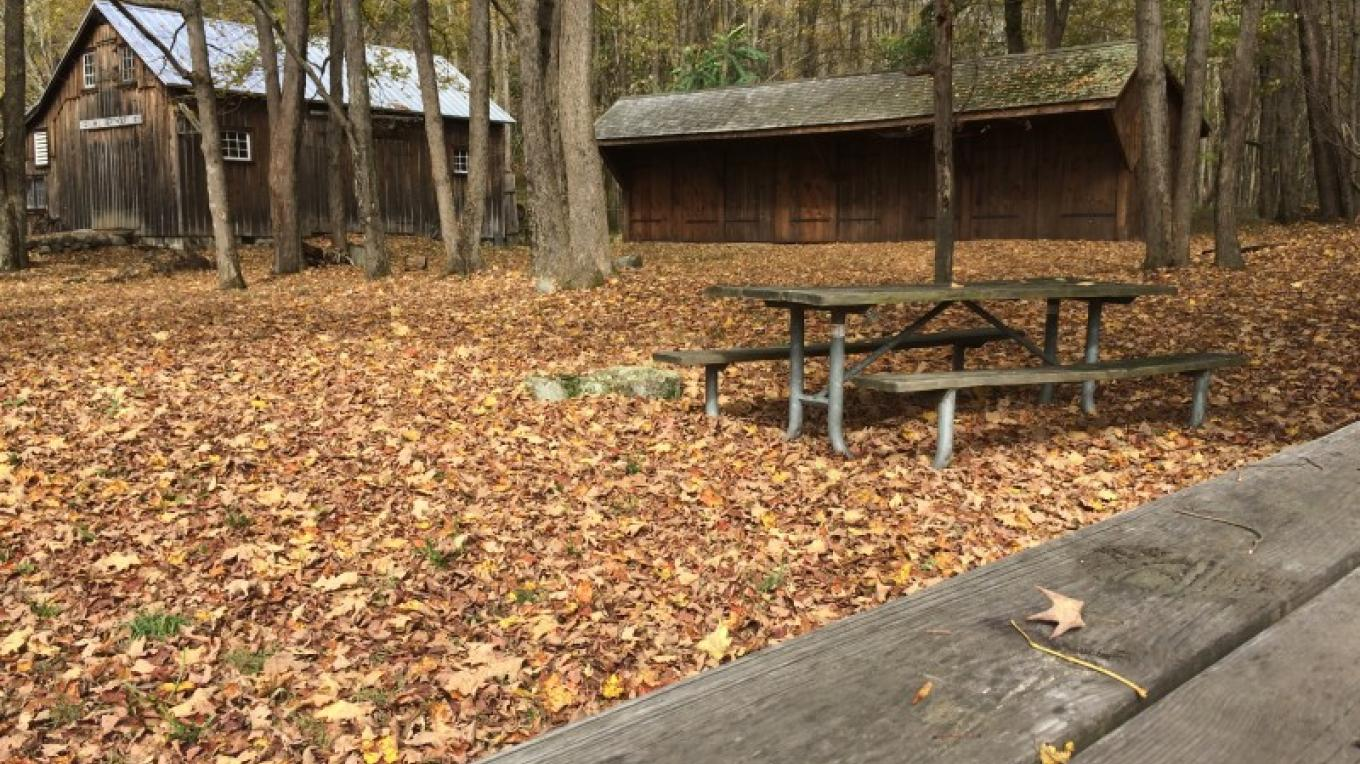 Picnic Area in Millbrook Village – National Park Service