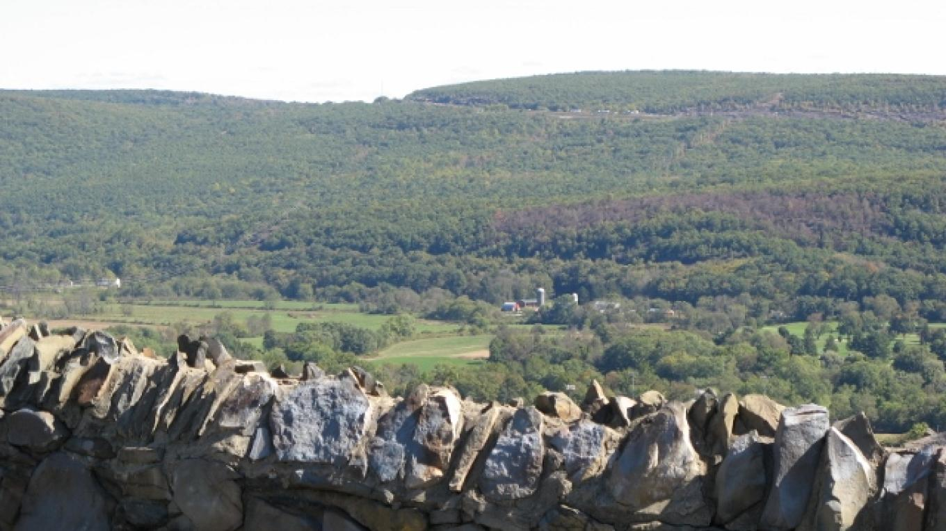 View of the Valley from Point Peter – Minisink Valley Historical Society