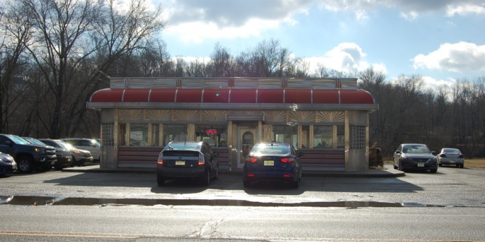 Blairstown Diner, #53 Route 94 - Located parallel to Main Street on Route 94, this location as become an iconic building, recognized by all fans. – Christine Beegle