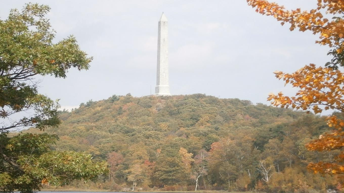 Erected on the highest elevation in NJ to honor NJ's veterans is High Point Monument . – A. Batko