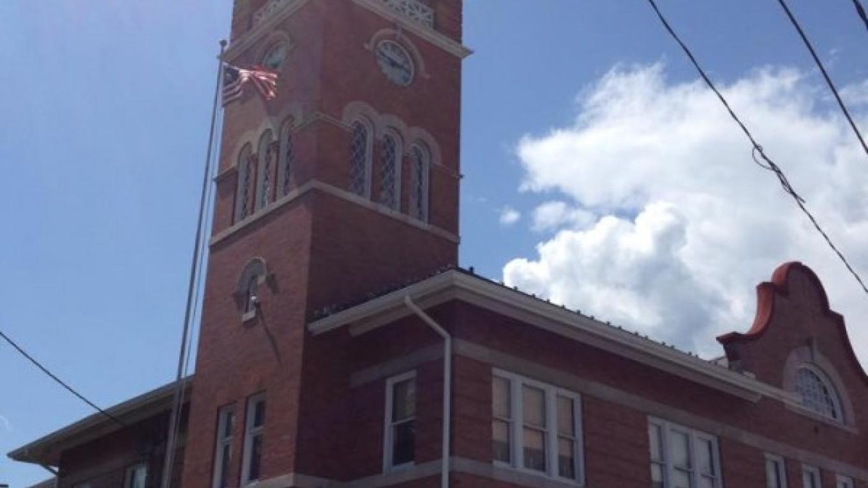"""Olde Town Hall"", now houses the Bangor Police Dept. and the Slate Belt Heritage Center, a museum of the history of the Slate Belt region. 30 N. 1st St., http://slatebeltheritage.net/index.html – Sharon J. Davis, Slate Belt Community Partnership"