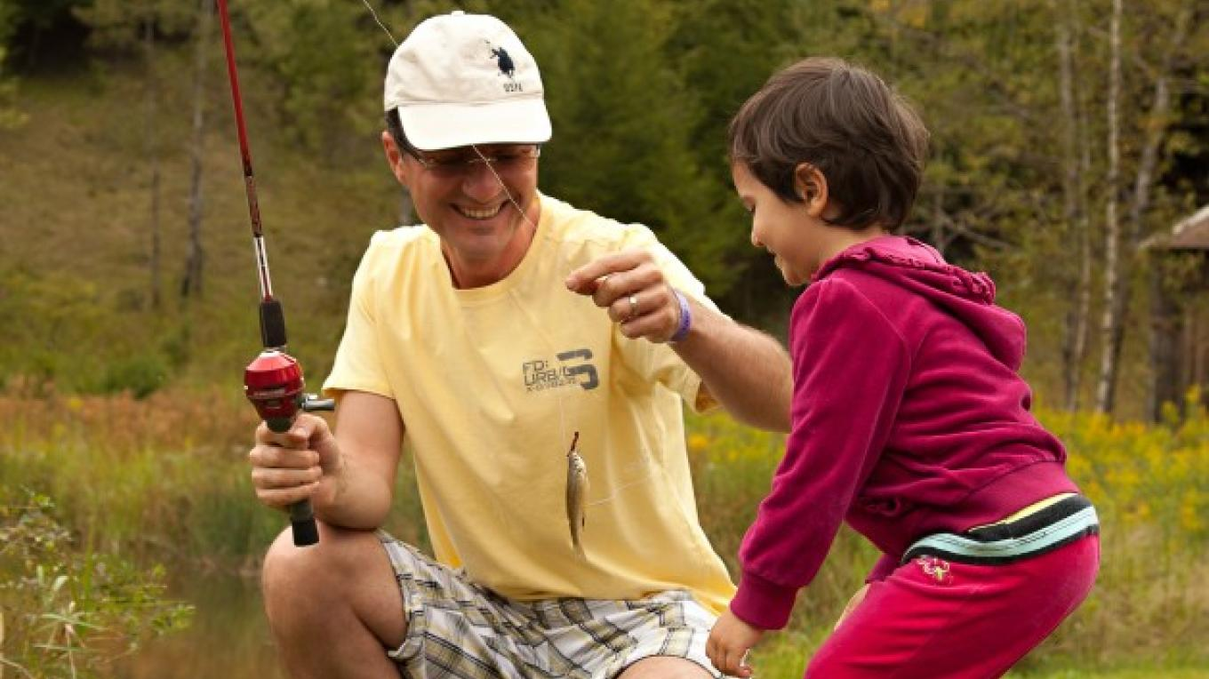 Catch and Release Fishing on site – Kevin Ferguson