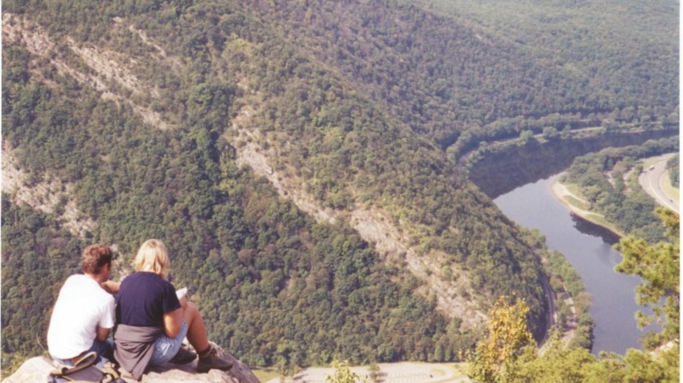 A breath-taking view from the top of the Delaware Water Gap. – John Jacobi