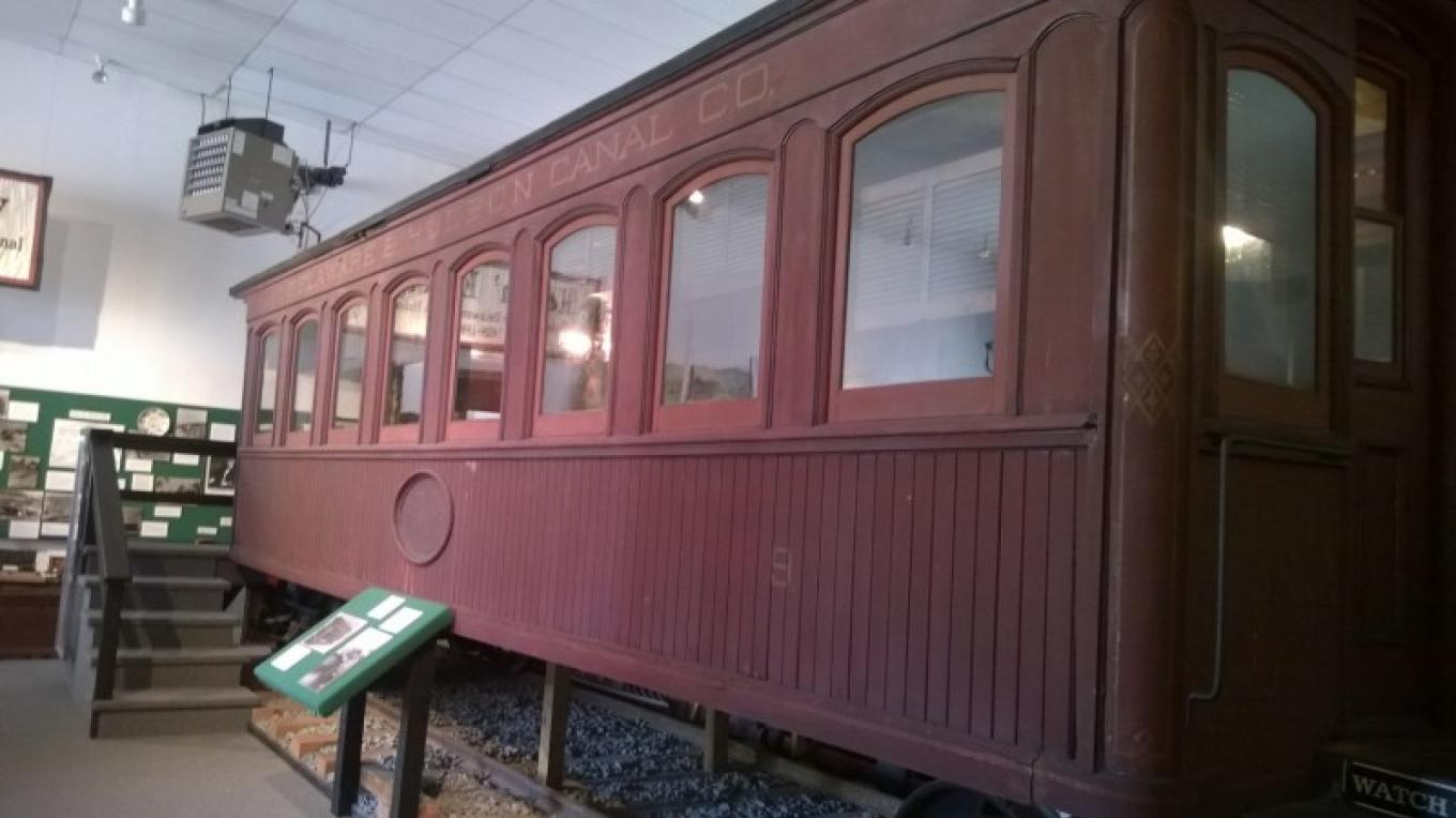 Eclipse Train Car – WCHS