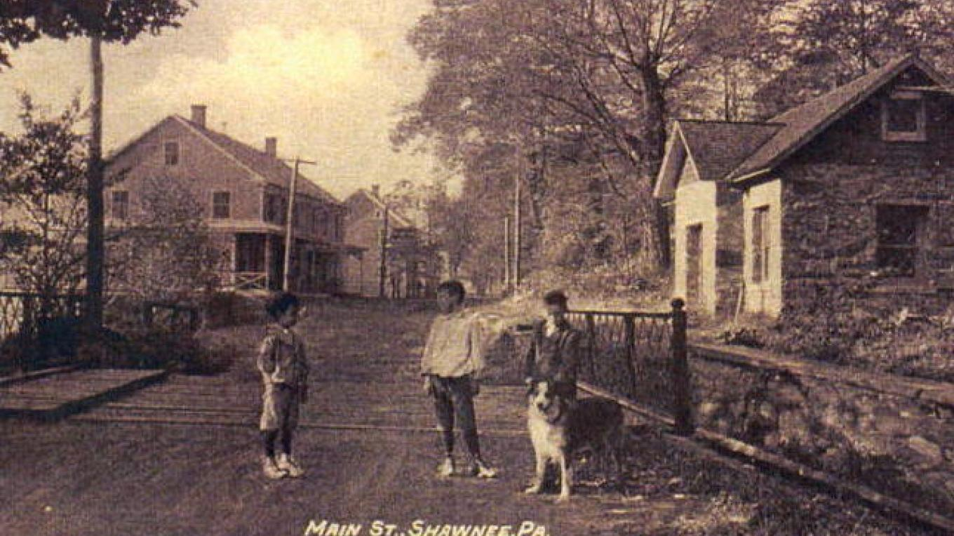 Historic Shawnee on Delaware – Unknown