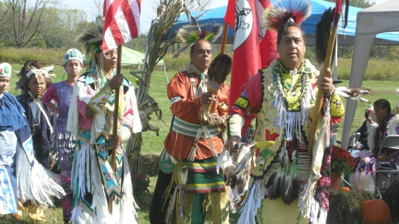 Cultural festivals, such as this Lenape Indian Festival, are held annually at the Black Creek Indian Site in Vernon, NJ.There are also historic farms producing and selling local products along the byway. – Jessi Paladini