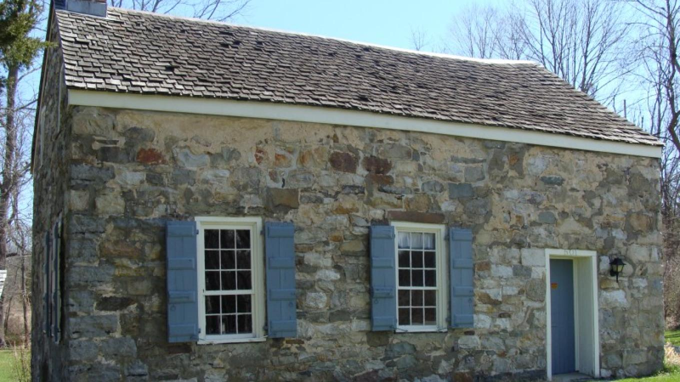 c1820 Stone Schoolhouse – Beth Jones
