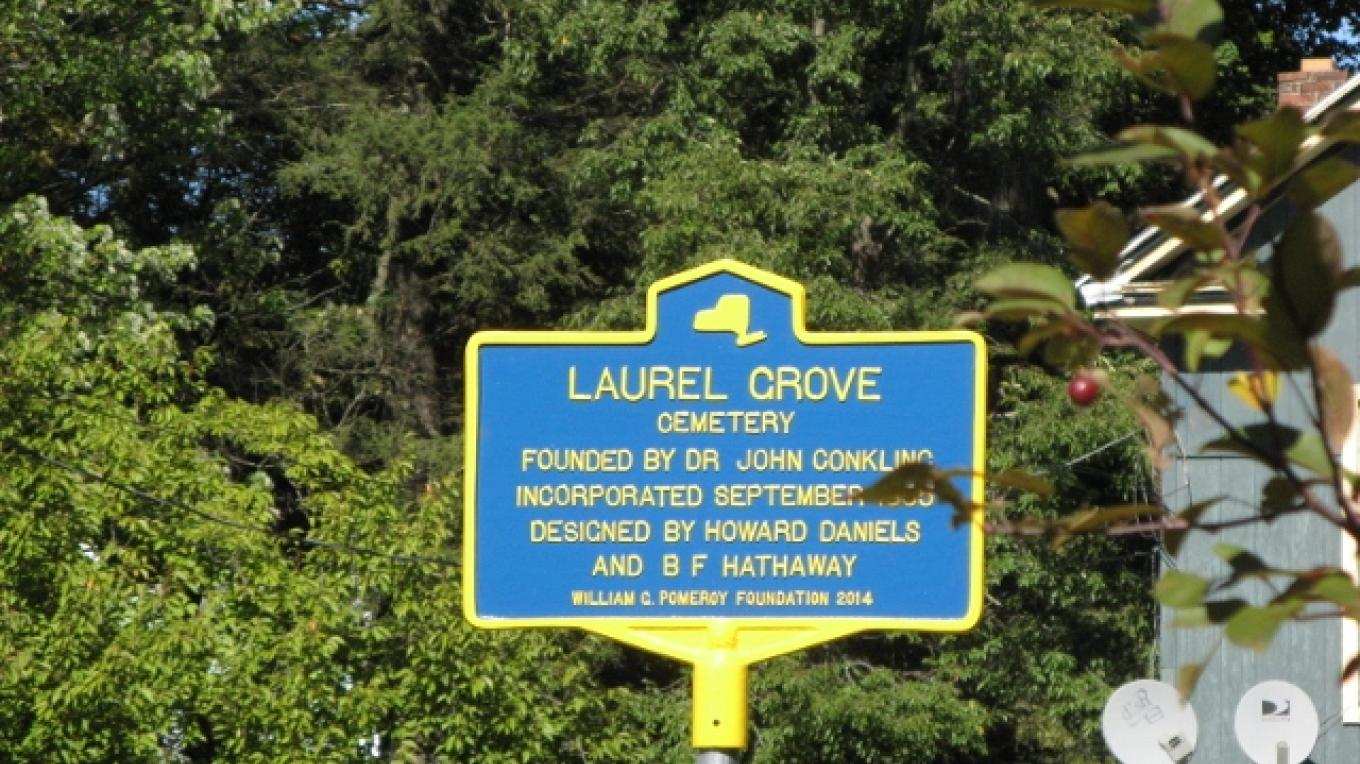 Laurel Grove Historic Marker – Minisink Valley Historical Society