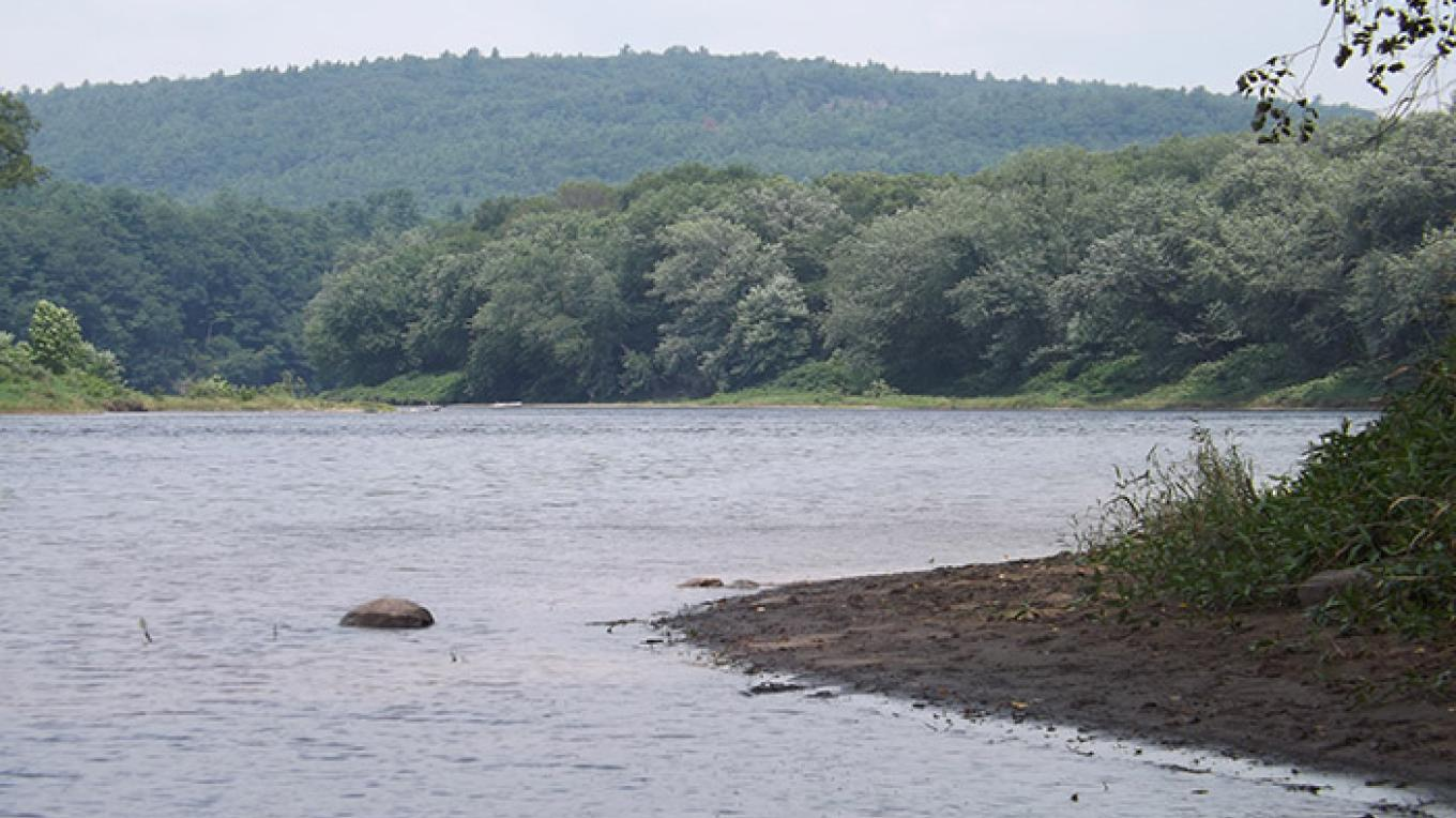 The Delaware River from Namanock Access, NJ. – National Park Service