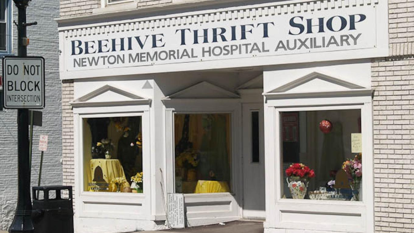 Beehive Thrift Store, busiest store on Spring Street! – Downtown Newton Association