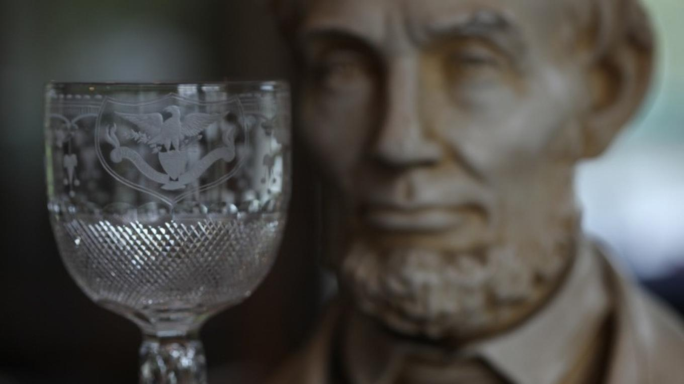 Glass maker Christian Dorflinger established his reputation for making fine cut glass when his Brooklyn, New York, factory made a set of glassware for the White House for President and Mrs. Lincoln. – Henry J. Loftus