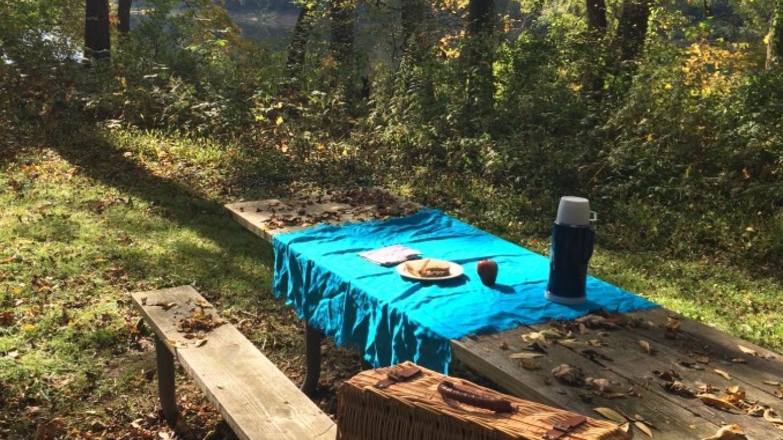 Sunny picnic at Namanock – National Park Service