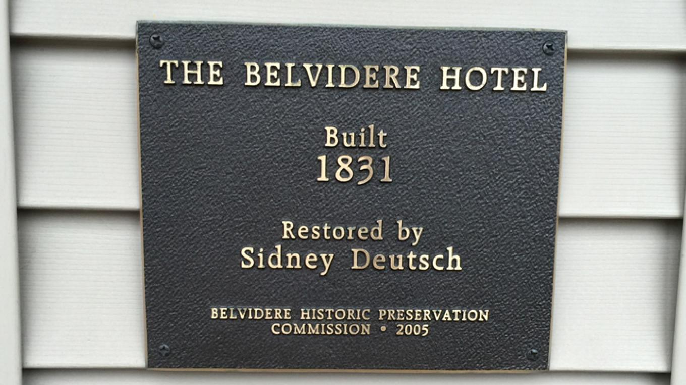 Belvidere Hotel, 430 Front Street – Patricia Butler