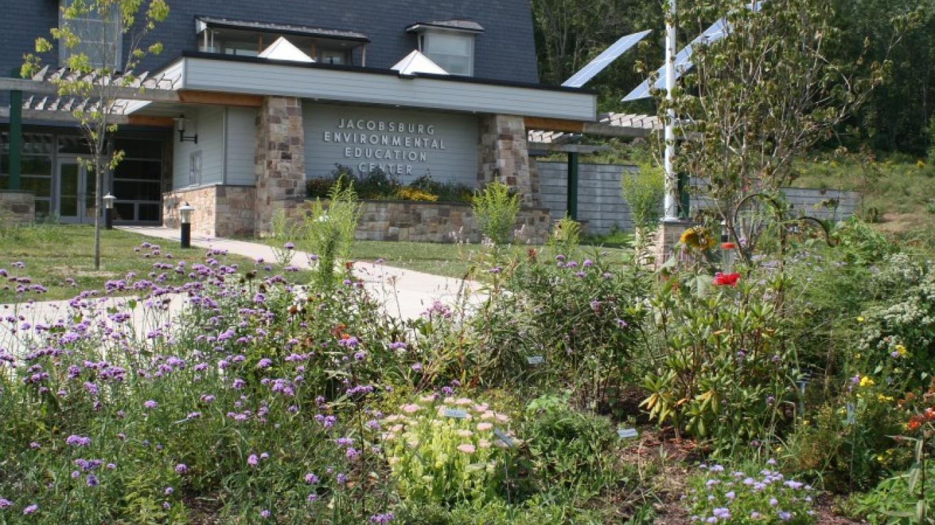 A Butterfly/Pollinator Garden in front of the Jacobsburg Office Visitor Center. – Rick Wilraut
