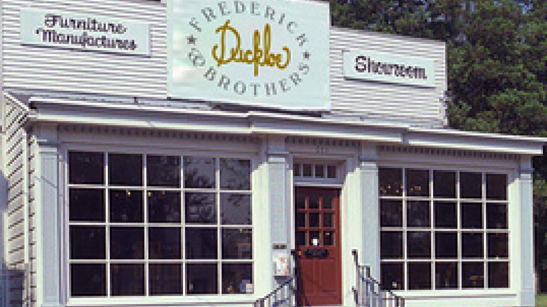 Frederick Duckloe & Bros. shop front