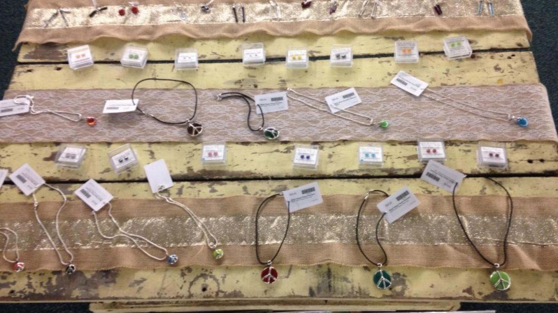 Handmade stained glass jewelry – Colleen Chudik