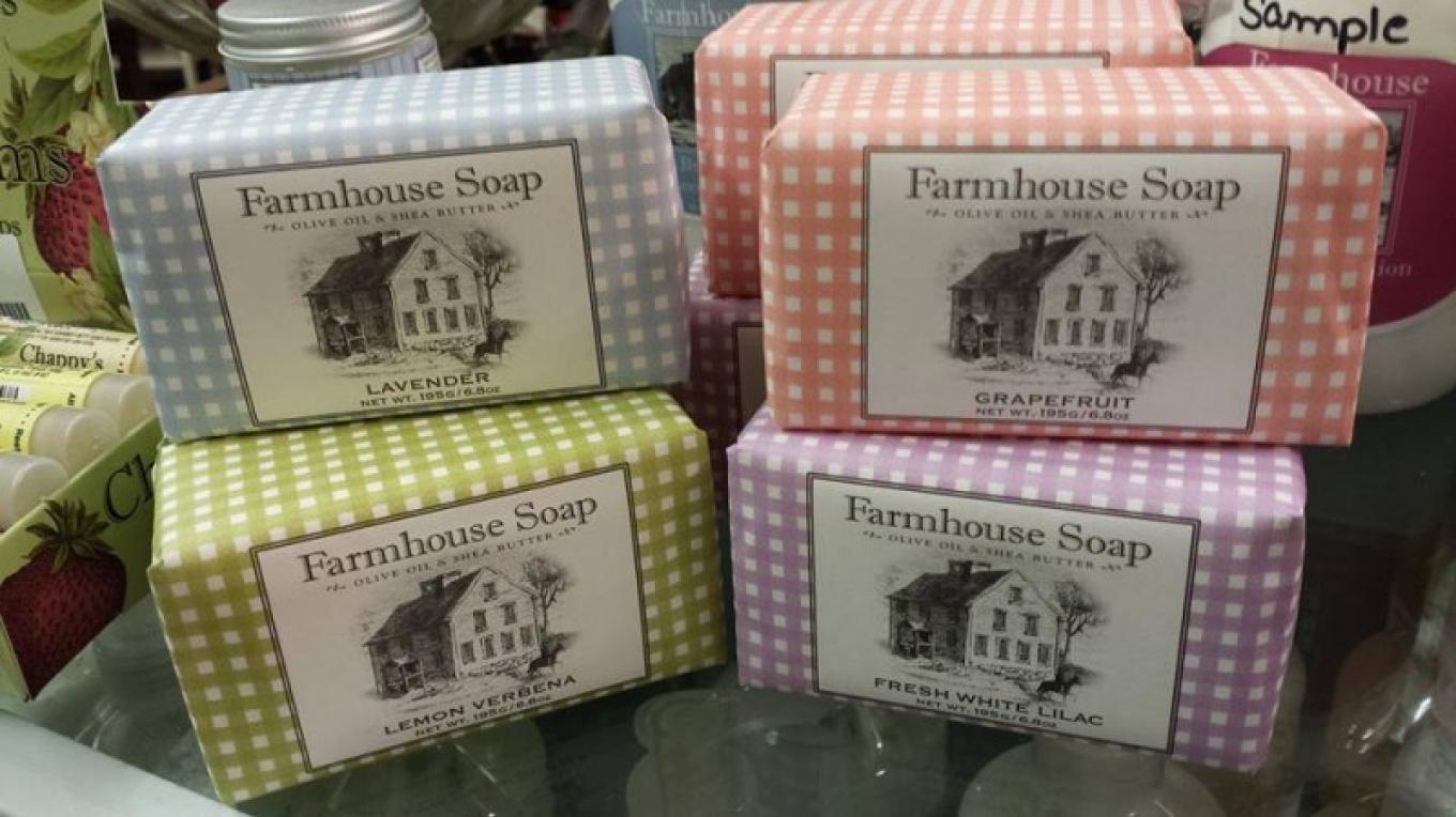 Fine soaps, and lotions --American made --from Sweet Grass Farms. – W.K. Longcor