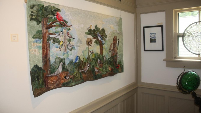 Art display at the Shawnee Gallery. – The Shawnee Inn and Golf Resort
