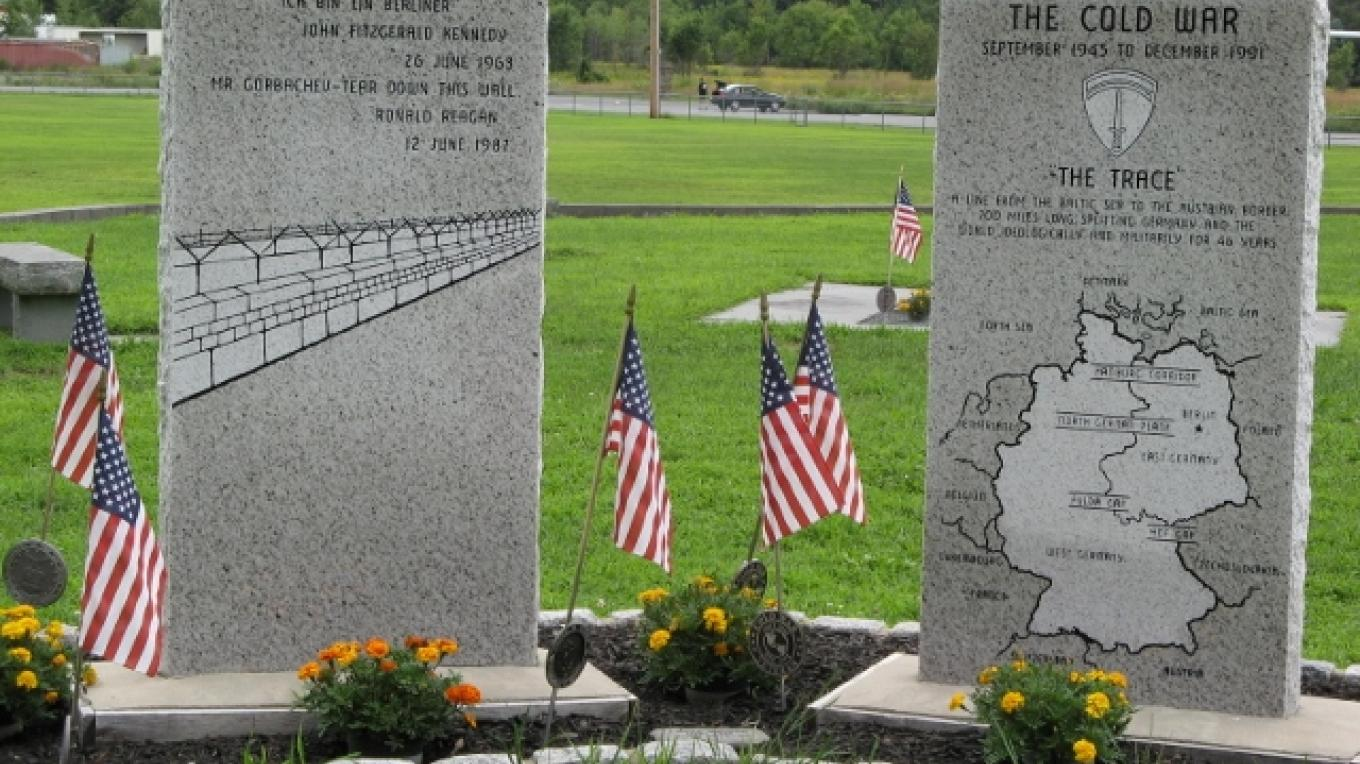 Cold War Monument. – Photograph by: Veterans Memorial Park and Education Center
