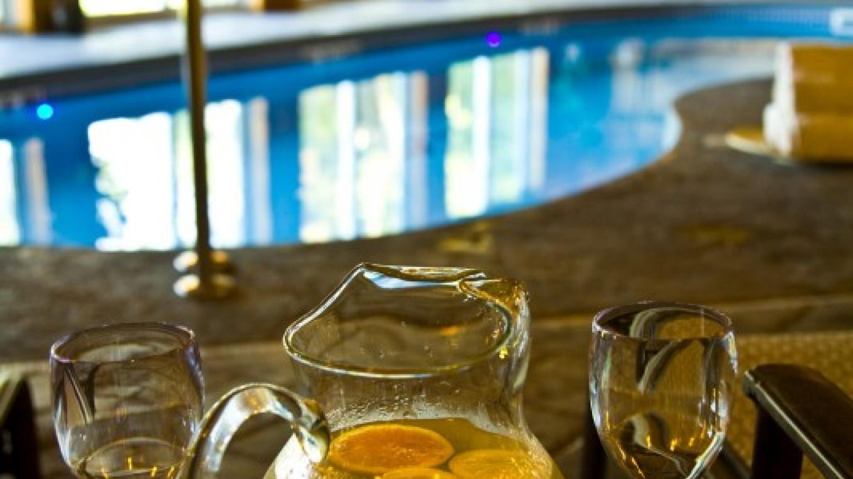 Indoor Salt-water Pool and onsite Spa