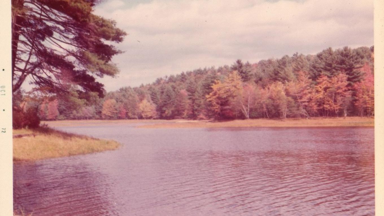 Luxton Lake, circa 1973 – courtesy of Roach Family