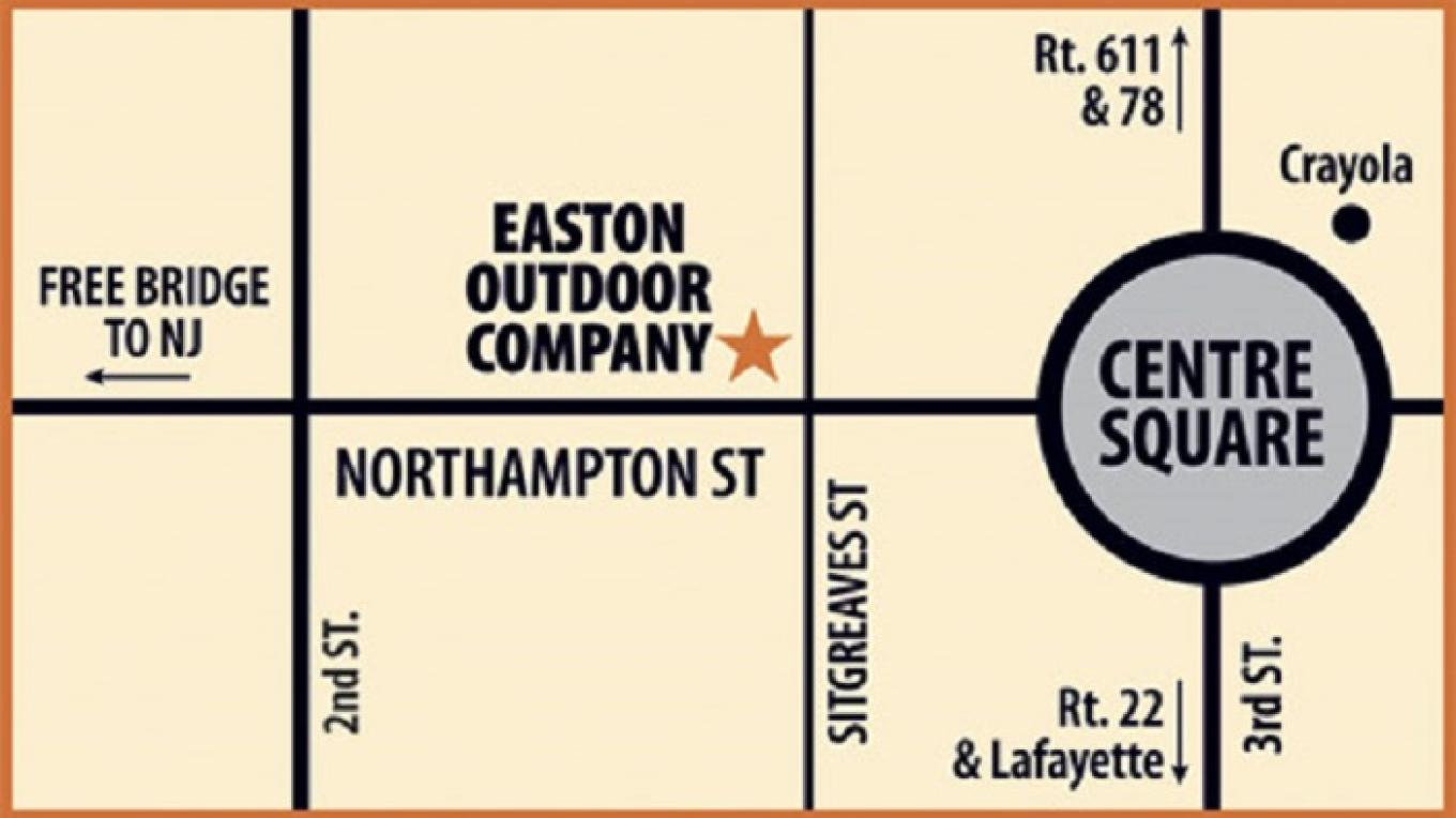 EOC Map – Easton Outdoor Company