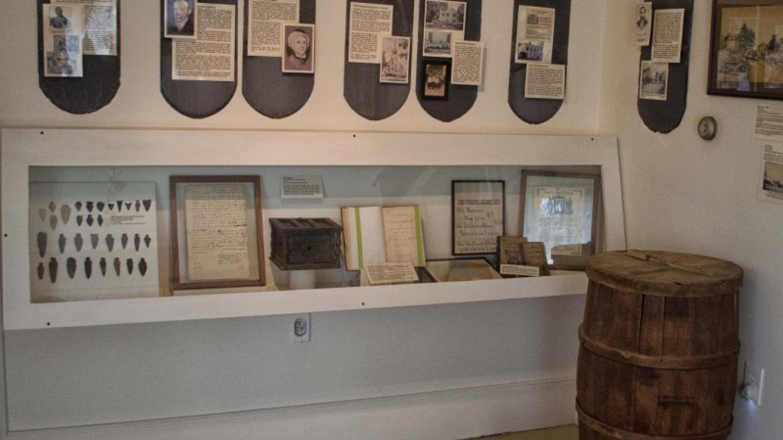 Sparta room at the Van Kirk Homestead. The exhibit explains the history of Sparta, NJ – Nancy Madacsi