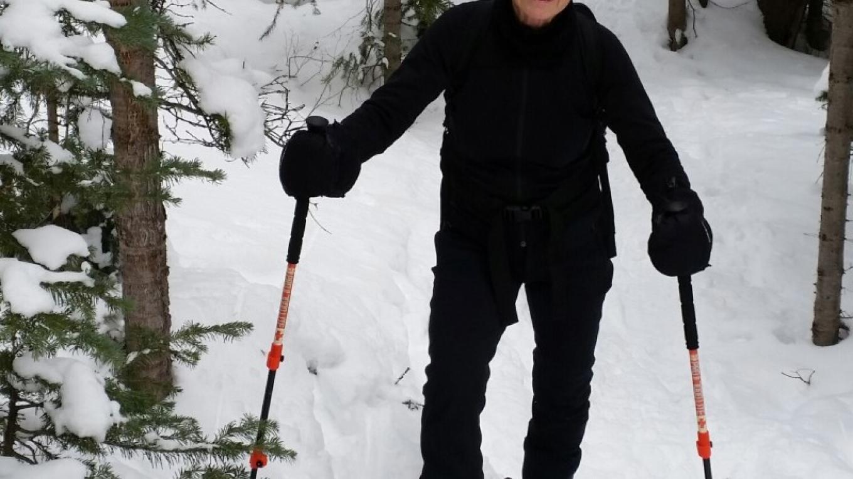 Snowshoe fun on Seasonal Pond Loop – Jan Beliveau