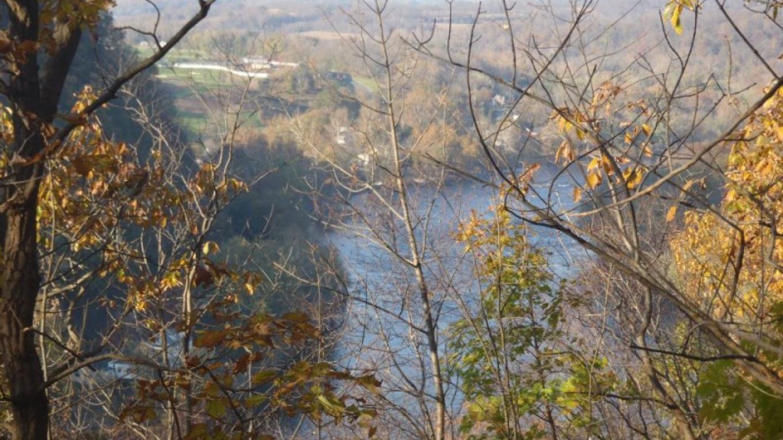Overlooking the Delaware River – Michael Helbing