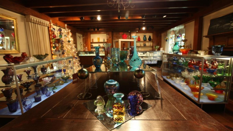Museum Gift Shop at the Dorflinger Glass Museum. – Henry J. Loftus