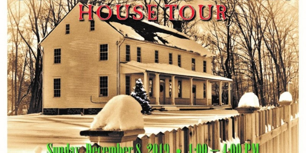 Christmas in the Country House Tour 2019 begins at the historic Ramsaysburg Homestead in Knowlton Township, NJ – Tom Drake