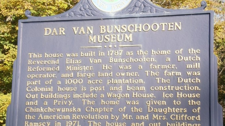 Elias Van Bunschooten Museum - Daughters of the American Revolution – A. Batko
