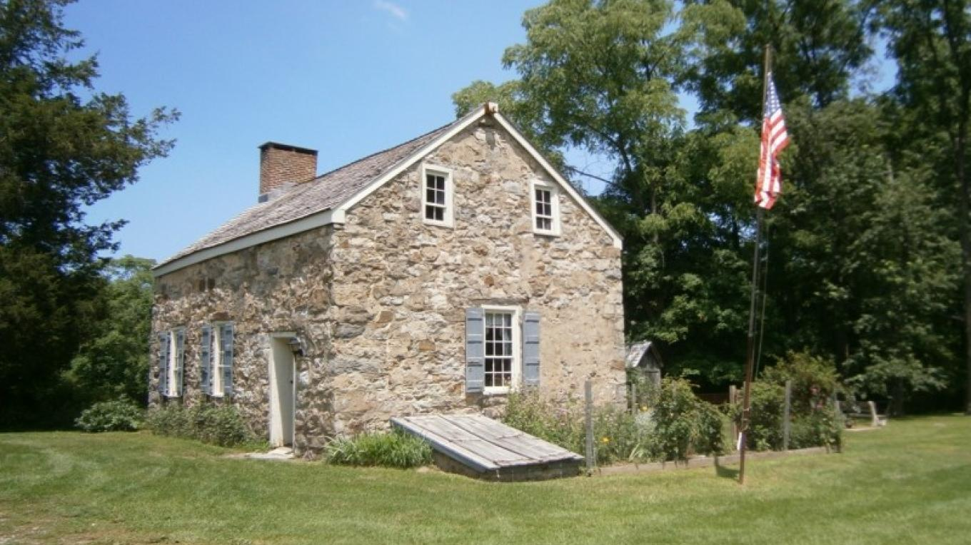 Nelden-Roberts Stonehouse - where an English Day School was taught in the 1820's. – Alicia Batko