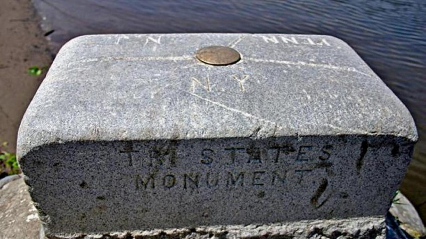 Tri-States Monument – Z. Allen-Lafayette, New Jersey Geological and Water Survey